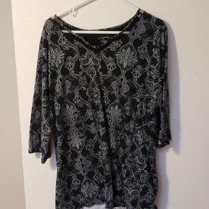 Mid sleeve blouse
